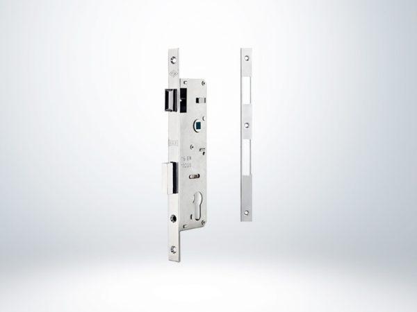 Kale PVC Doğrama için Silindirli Kapı Kilidi - Krom - 35mm