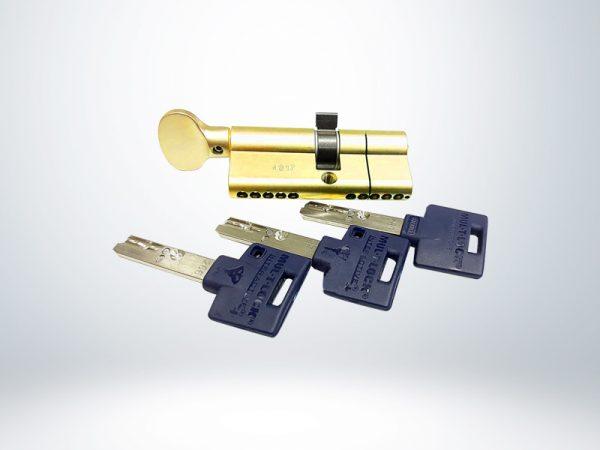 Mul-T-Lock 71 mm İnteractive+ Barel Tutamaklı - Sarı - 51280041