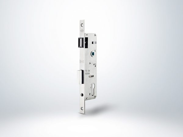 Kale PVC Doğrama için Silindirli Kapı Kilidi - Krom (Kol ekseni 92 mm) - 30mm