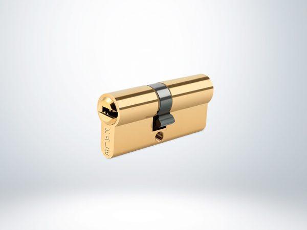 Kale Sistem Silindir Çelik Pimli Blisterli - Sarı - 90mm