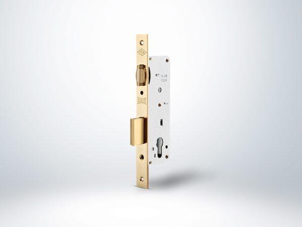 Kale Standart Silindirli Daire Kilidi Makaralı - Sarı - 35mm