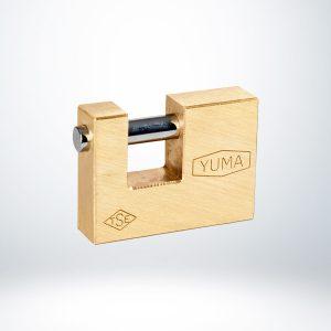 Yuma 80mm Kayar Milli Asma Kilit - YM3080